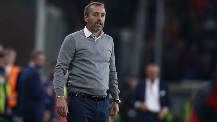 Marco Giampaolo baru saja dipecat oleh AC Milan, pada hari Rabu (09/10/19) dini hari WIB. Copyright: © acmilan.com