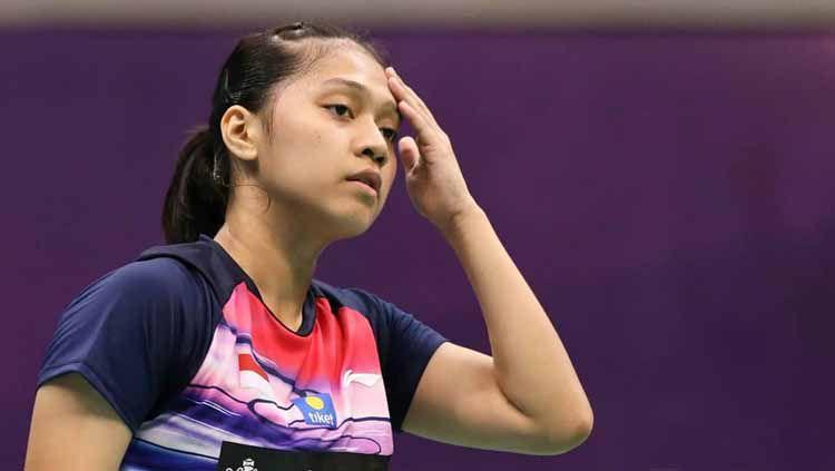 Indah Cahya Sari Jamil, ganda campuran Indonesia di kejuaraan dunia junior bulutangkis 2019. Copyright: © indahcs.lovers