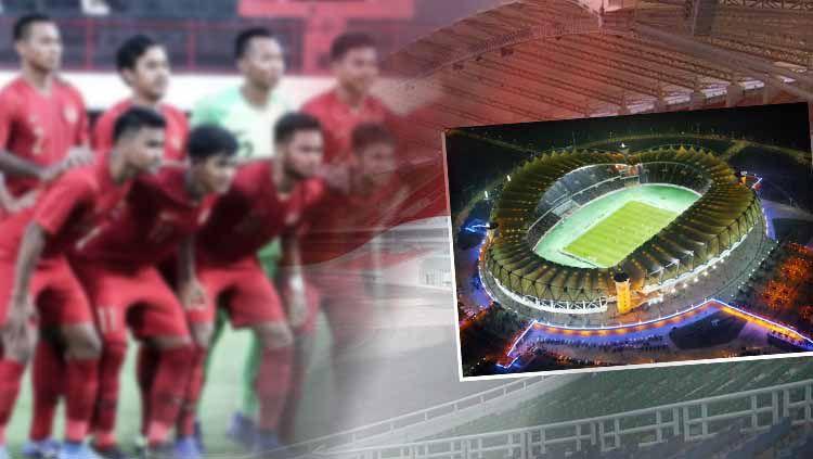 Venue Timnas Indonesia U-23 digeser, ini potret Stadion Wuhan Sports Center di China Copyright: © http://stadiumdb.com/INDOSPORT