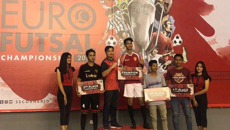AIS Palembang juara Euro Futsal Championship 2019 zona Palembang. Copyright: © Euro Futsal Championship 2019