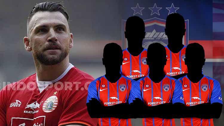 Marko Simic lebih baik ketimbang 5 striker Johor Darul Takzim. Copyright: © INDOSPORT