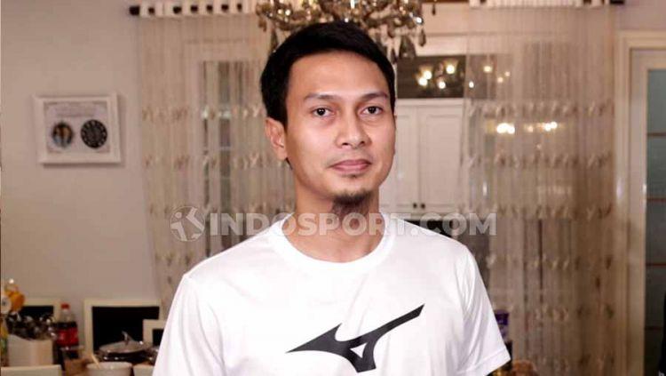 Pebulutangkis Indonesia, Mohammad Ahsan. Copyright: © Roihan Susilo Utomo/INDOSPORT