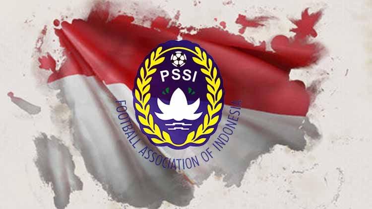 PSSI selaku federasi sepak bola Indonesia menuai pujian dari suporter sepak bola Malaysia karena desain poster pra-pertandingan yang dinilai bagus. Copyright: © PSSI/Eli Suhaeli/INDOSPORT