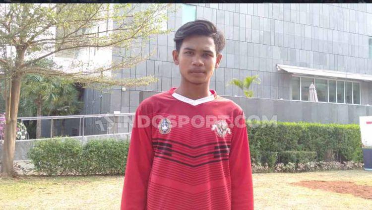 Ardi Ardiana, pemain Kalteng Putra FC yang terpilih mengikuti program pelatihan PSSI, Garuda Select 2019 angkatan kedua. Copyright: © Shintya Anya Maharani/INDOSPORT