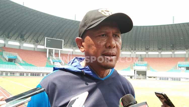 Rahmad Darmawan dipastikan batal menjadi pelatih baru PSMS Medan dalam menyongsong Liga 2 2020. Copyright: © Zainal Hasan/INDOSPORT