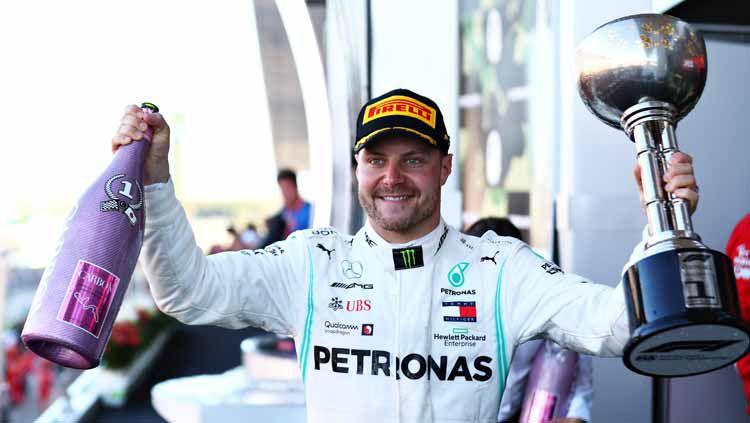 Valtteri Bottas mulai muak dengan orang yang selalu membandingkannya dengan Nico Rosberg dan bicara targetnya musim depan. Copyright: © Mark Thompson/Getty Images