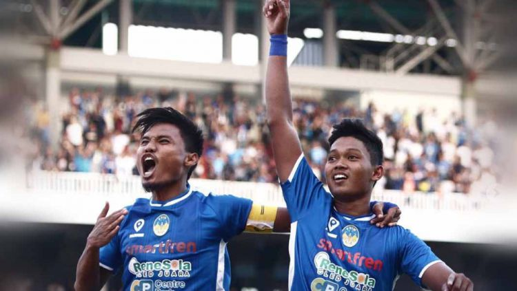 Laga pertandingan PSIM Yogyakarta vs Persatu di Mandala Krida, Yogyakarta, Minggu (13/10/19). Copyright: © Instagram@psimjogja_official