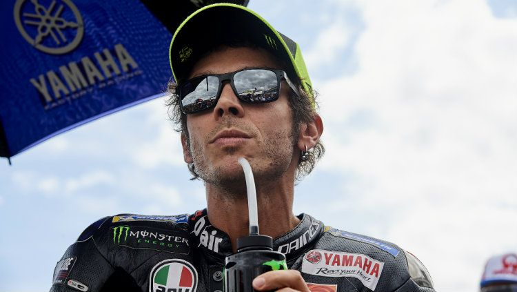 Valentino Rossi di MotoGP Aragon. Copyright: © Jose Breton/Pics Action/NurPhoto via Getty Images