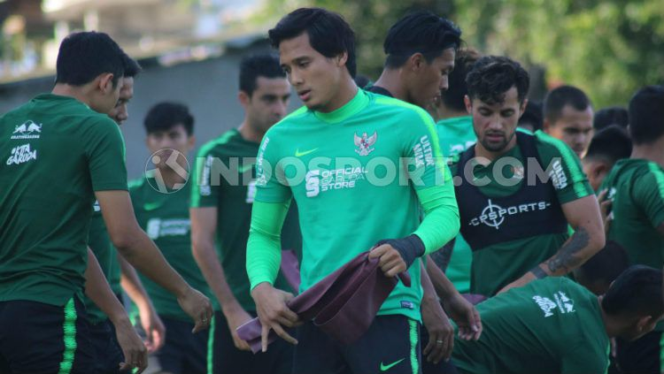 Kiper klub Liga 1 Madura United, M Ridho Djazulie. Copyright: © Nofik Lukman Hakim/INDOSPORT