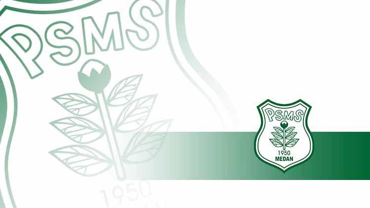 Logo PSMS Medan. Copyright: © Grafis: Indosport.com