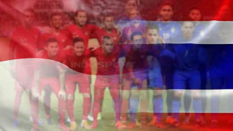 Timnas Indonesia vs Thailand. Copyright: © INDOSPORT