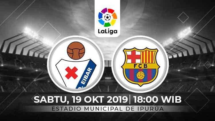 Prediksi Eibar vs Barcelona Copyright: © INDOSPORT