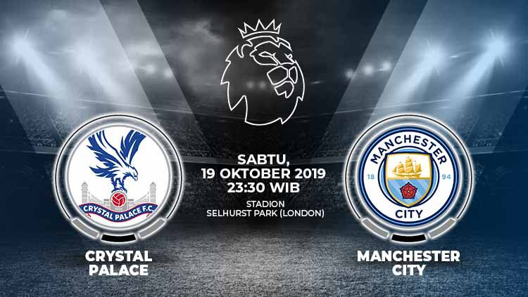 Xem lại Crystal Palace vs Man City, vòng 9 Ngoại hạng Anh 2019/20