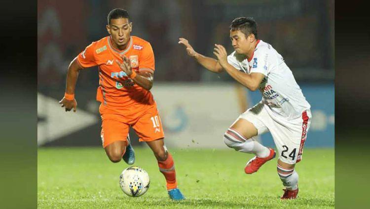Pertemuan Borneo FC dengan Bali United pada Liga 1 2019 silam. Copyright: © Instagram@borneofc.id
