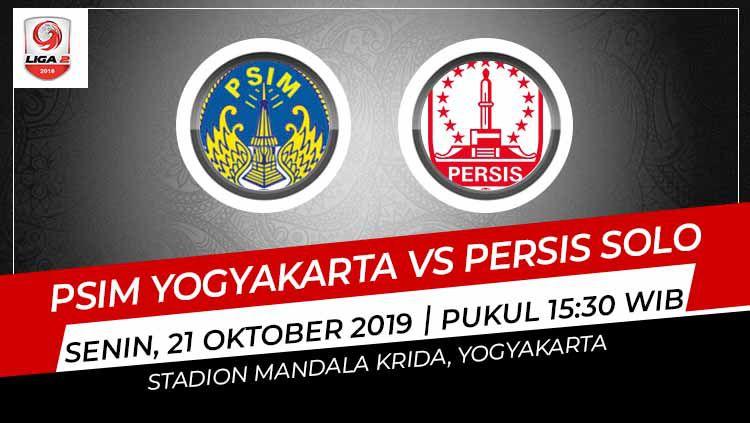 Pertandingan PSIM Yogyakarta vs Persis Solo. Copyright: © Grafis: Indosport.com