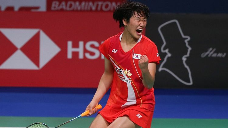 Dihancurkan Ruselli di Hong Kong Open 2019, Bocah Ajaib An Se Young Gagal Melangkah ke World Tour Finals 2019 Copyright: © bwfbadminton