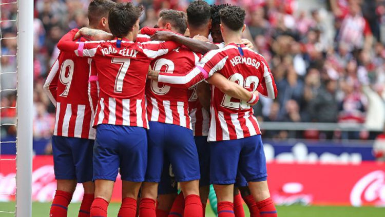 Diego Costa merasa ada sosok mantan bintang Timnas Inggris, Wayne Rooney, di kubu Atletico Madrid. Copyright: © atleticodemadrid.com
