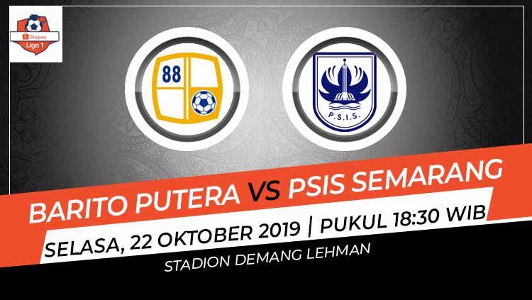 Berikut link live streaming Liga 1 2019 antara Barito Putera vs PSIS Semarang di Stadion Demang Lehman, Martapura, Kalimantan Selatan, Selasa (22/10/19) Copyright: © INDOSPORT