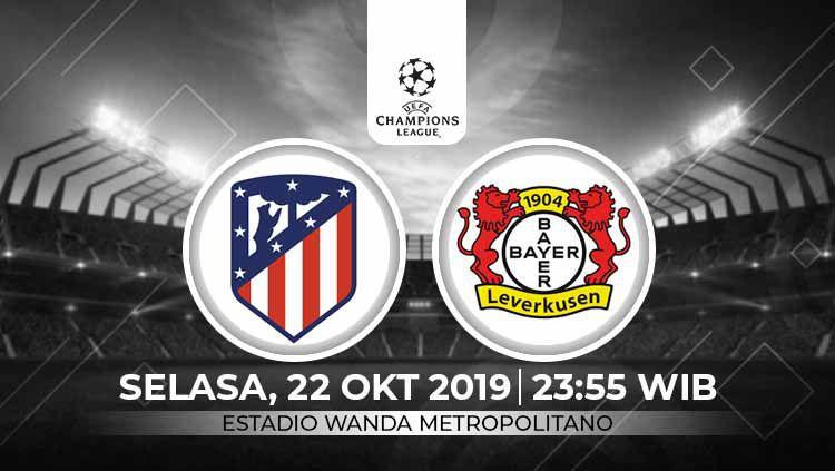 Prediksi Atletico Madrid vs Bayern Leverkusen di Liga Champions 2019-2020. Copyright: © INDOSPORT