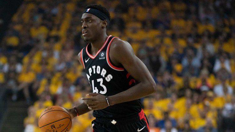 Penyerang Toronto Raptors, Pascal Siakam, memperpanjang kontraknya dengan nilai fantastis. Copyright: © NBA