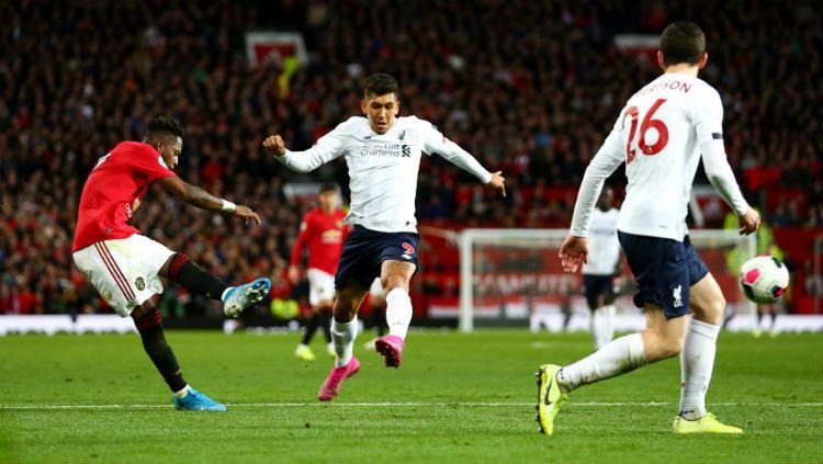 3 Fakta Tak Masuk Akal yang Terungkap dalam Laga Manchester United vs Liverpool Copyright: © Getty Images/ Robbie Jay Barratt