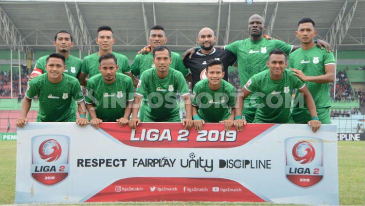 Skuat PSMS Medan di Liga 2 2019. Copyright: © Aldi Aulia Anwar/INDOSPORT