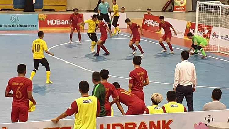 Indonesia sukses kalahkan Malaysia 3-2 di laga perdana Piala AFF Futsal 2019 Copyright: © Twitter/@AFFPresse