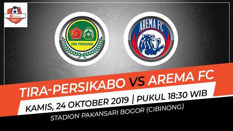 Laga Tira-Persikabo melawan Arema FC, Kamis (24/10/19) pukul 18.30 WIB, bisa menjadi penentu mengenai yang lebih layak berada di papan atas. Copyright: © Grafis: Indosport.com