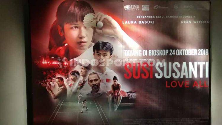 Suasana Plaza Indonesia tempat berlangsungnya Press Screening Film Susi Susanti: Love All. Copyright: © Abdurrahman Ranala/INDOSPORT