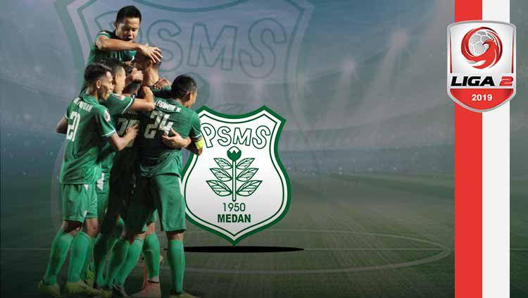 Untuk bisa promosi ke Liga 1, PSMS Medan harus melaju ke babak semifinal Liga 2 2019 lebih dulu tapi peluang tersebut sangatlah tipis dengan Persita Tangerang siap menghadang. Copyright: © Grafis: Indosport.com