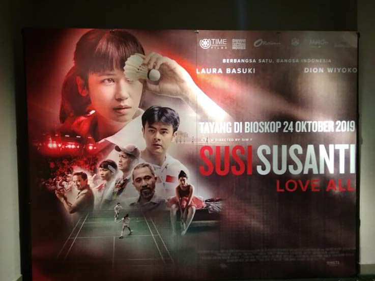 Review Film Susi Susanti: Love All, Konflik dan Romansa di Balik Prestasi