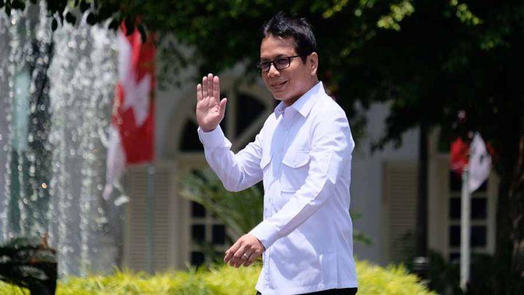Wishnutama Kusubandio secara resmi telah menjadi bagian kabinet dari Presiden Jokowi Widodo. Dirinya memiliki peran penting di Asian Games 2018. Copyright: © mediaformasi.com