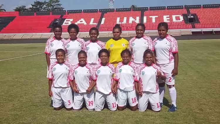 Skuat Persipura Tolikara di Liga 1 Putri 2019. Copyright: © Istimewa