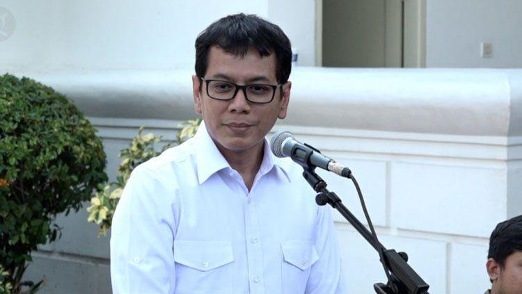 Menteri Pariwisata dan Ekonomi Kreatif Wishnutama adalah penggemar Persipura Jayapura. Copyright: © Antara News