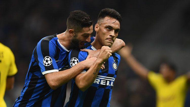 Inter Milan dipastikan mendapat suntikan tenaga tambahan pada duel hidup mati menghadapi Barcelona di Liga Champions, Rabu (11/12/19) tengah pekan mendatang. Copyright: © Twitter/@IFTVofficial