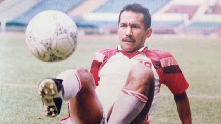 Bambang Nurdiansyah, sesaat sebelum bermain di SEA Games 1991. Copyright: © Tabloid Bola