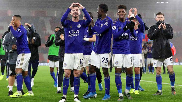 Musim ini mungkin adalah musim terbaik Leicester City setelah musim di mana mereka berhasil meraih gelar Liga Inggris pada 2015/16 lalu. Copyright: © Naomi Baker/Getty Images