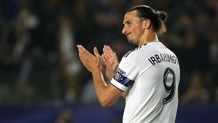 Striker LA Galaxy, Zlatan Ibrahimovic Copyright: © Matthew Aston/GettyImages