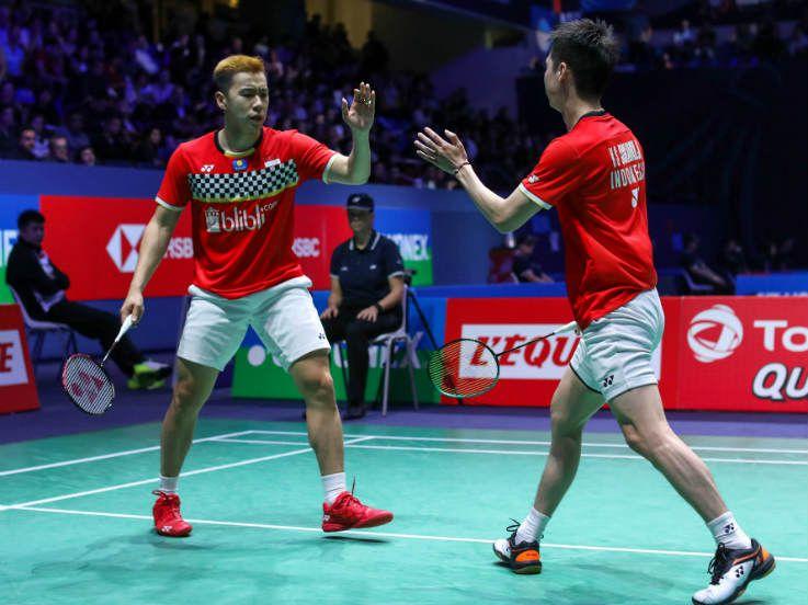 Susul Kento Momota, Kevin/Marcus Resmi Menyandang Status Unggulan Pertama World Tour Finals 2019