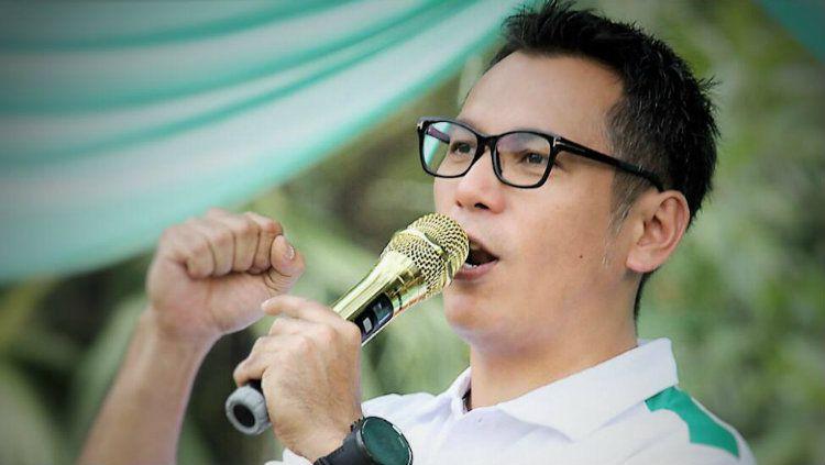 Wakil Ketua Asprov PSSI DKI Jakarta Aldi Karmawan. Copyright: © Istimewa