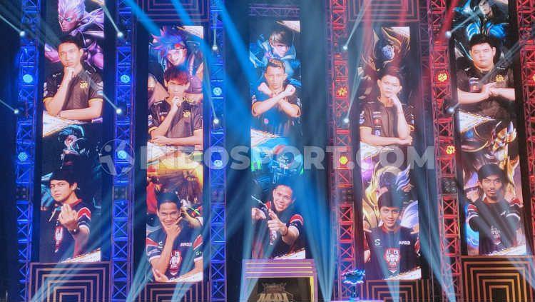 Wakil Indonesia di Mobile Legends World Championship 2019 (M1) Malaysia, Rex Regum Qeon (RRQ) dan EVOS eSports (EVOS Legend). Copyright: © Martini/INDOSPORT
