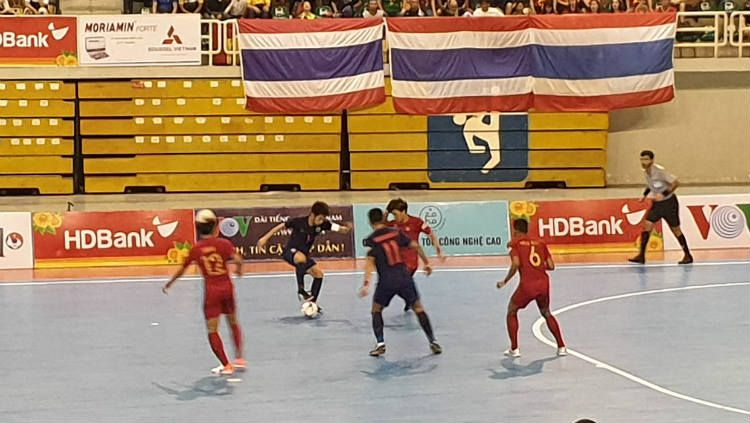 Final Piala AFF Futsal antara Indonesia vs Thailand. Copyright: © Twitter/ASEAN Football