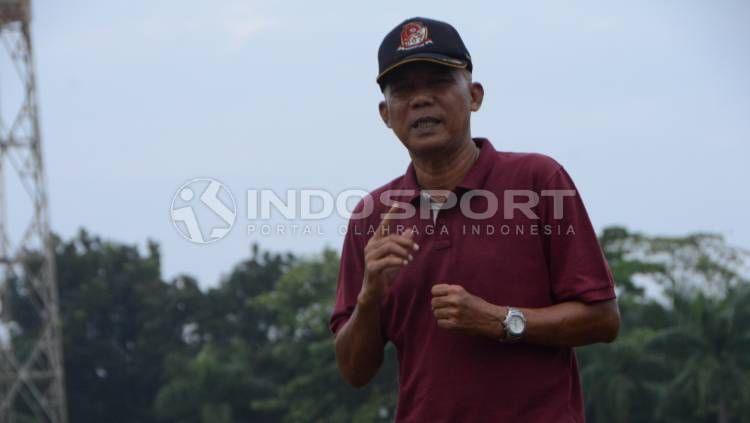 Bagi suporter PSMS Medan, mungkin nama Suharto AD sudah tidak asing karena ia memang lebih banyak berkarier di klub itu. Apa kabar dirinya? Copyright: © Aldi Aulia Anwar/INDOSPORT