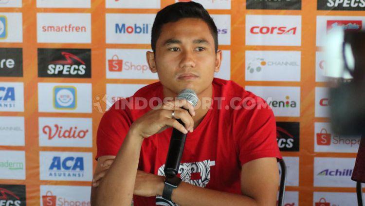Performa konsisten Ricky Fajrin bersama Bali United di Liga 1 dan Timnas Indonesia melirik perhatian klub Malaysia dan Thailand. Copyright: © Nofik Lukman Hakim/INDOSPORT