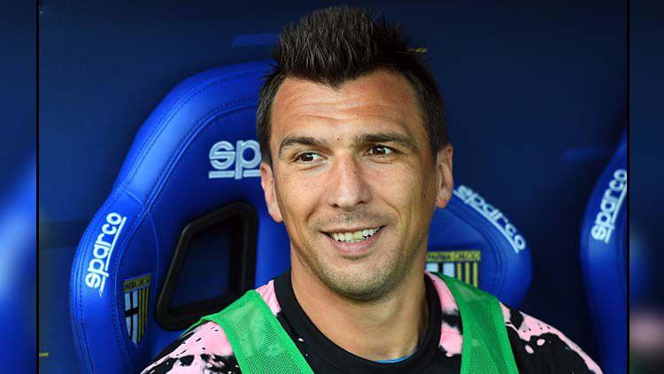 Striker Juventus, Mario Mandzukic belum bermain di kompetisi resmi manapun musim 2019-2020 Copyright: © Alessandro Sabattini/GettyImages