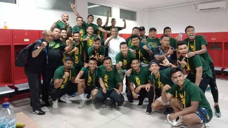Mengantisipasi para pemain yang diincar klub lain, manajemen klub Liga 2 PSMS Medan pun bertekad mempertahankan beberapa pemainnya. Copyright: © Istimewa