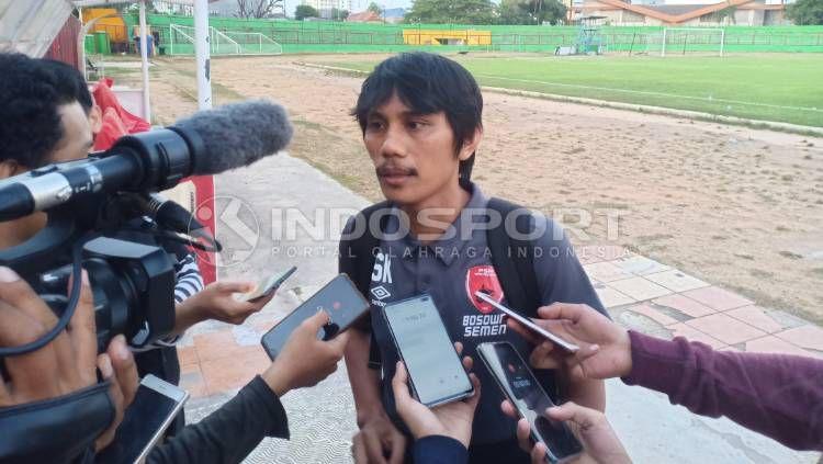 Media Officer PSM Makassar, Sulaiman Abdul Karim. Copyright: © Adriyan Adirizky/INDOSPORT