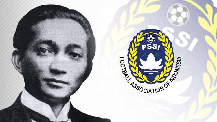 Soeratin Sosrosoegondo adalah sosok yang sangat berjasa bagi sepak bola Indonesia karena sudah mendirikan PSSI. Copyright: © Ilustrasi/INDOSPORT