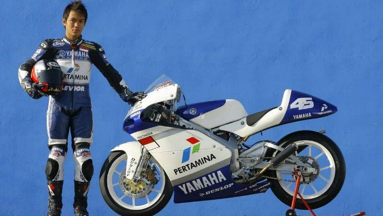 Doni Tata Pradita, Mantan Pembalap Moto2 Indonesia Copyright: © instagram.com/donitatapradita5