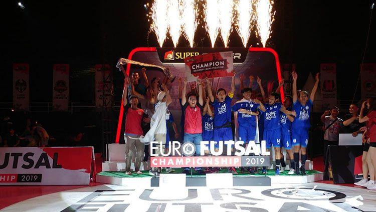Gelaran Euro Futsal Championship 2019 Regional Jakarta telah berakhir. Copyright: © Media Euro Futsal Champhionship